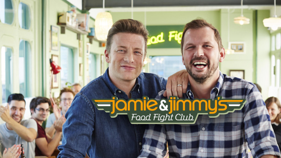 Image for the TV series Jamie and Jimmy's Food Fight Club