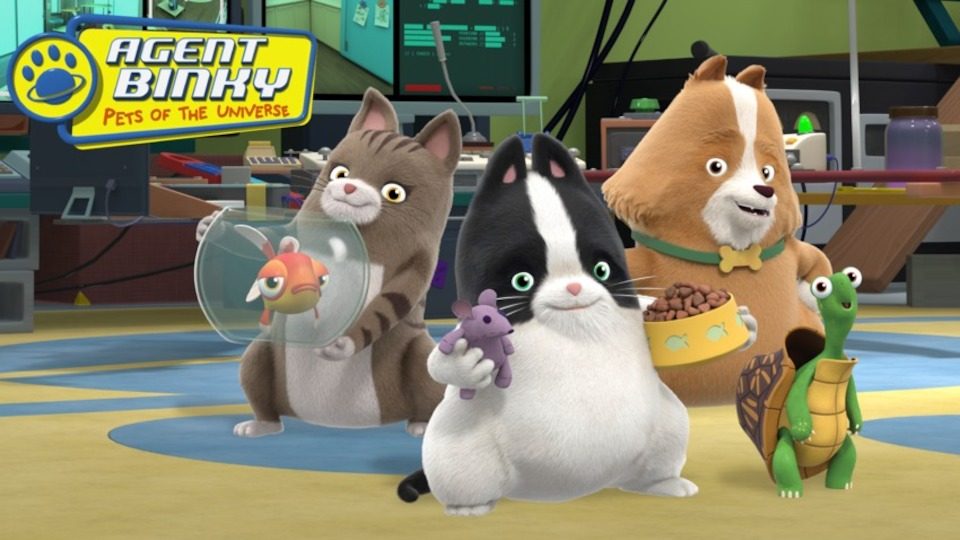 Image for the TV series Agent Binky: Pets of the Universe