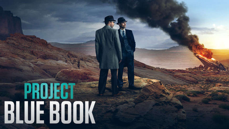 Image for the TV series Projet Blue Book