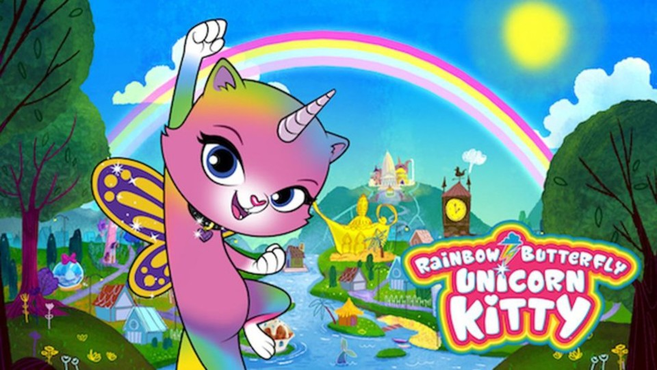 Image for the TV series Rainbow Butterfly Unicorn Kitty
