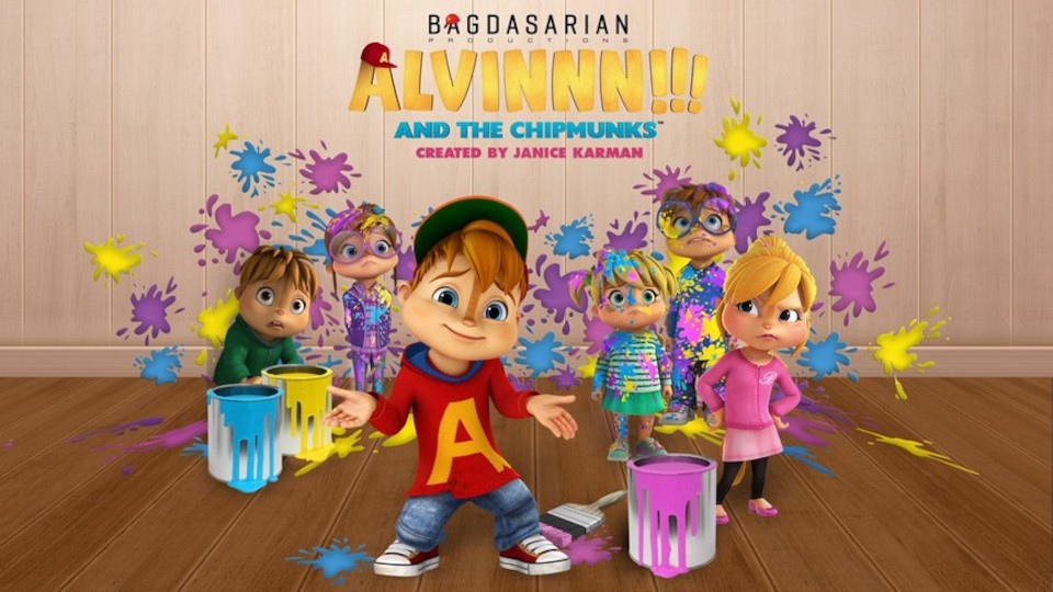 Image for the TV series ALVINNN!!! and the Chipmunks