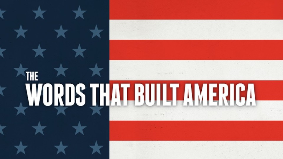 Image for the TV series The Words That Built America