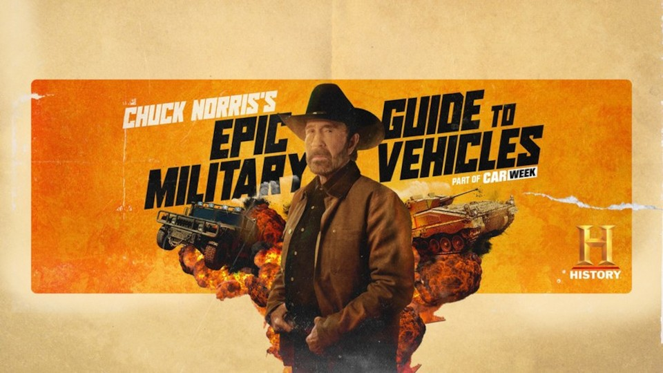 Image for the TV series Chuck Norris' Epic Guide to Military Vehicles