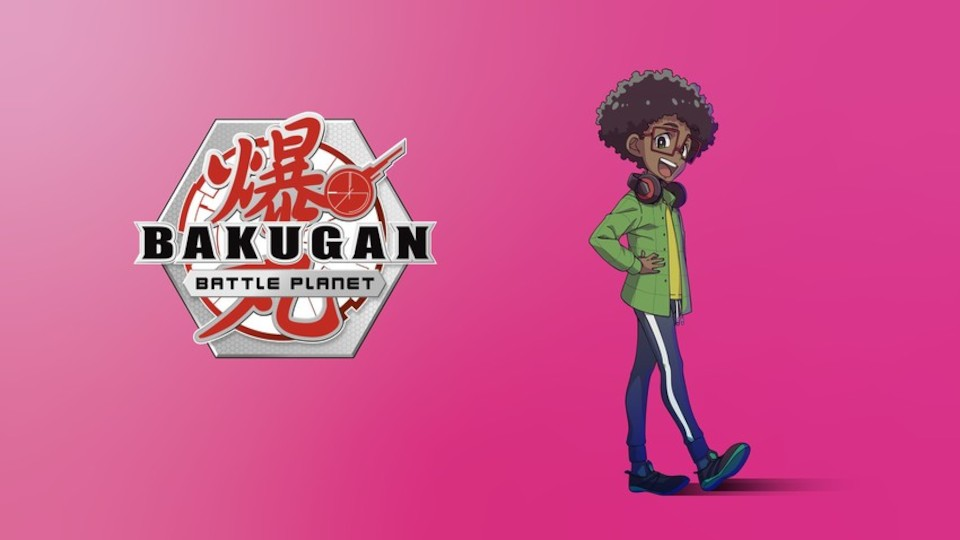 Image for the TV series Bakugan: Battle Planet
