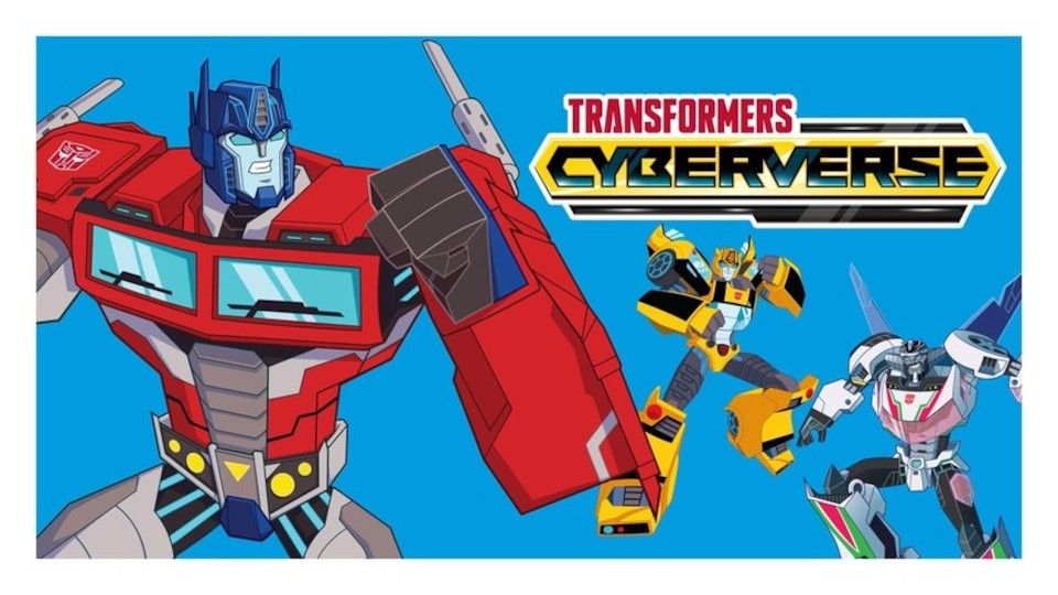 Image for the TV series Transformers: Cyberverse