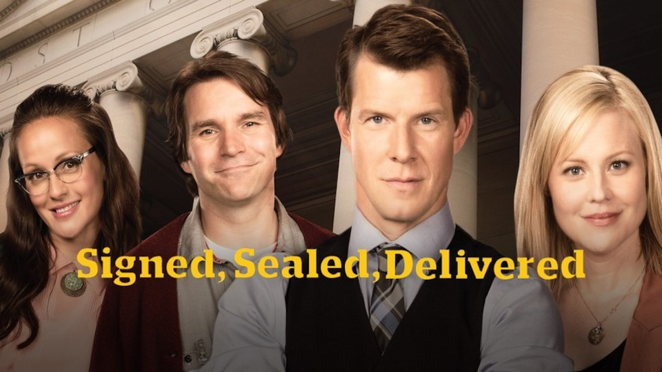 Image for the TV series Signed, Sealed, Delivered