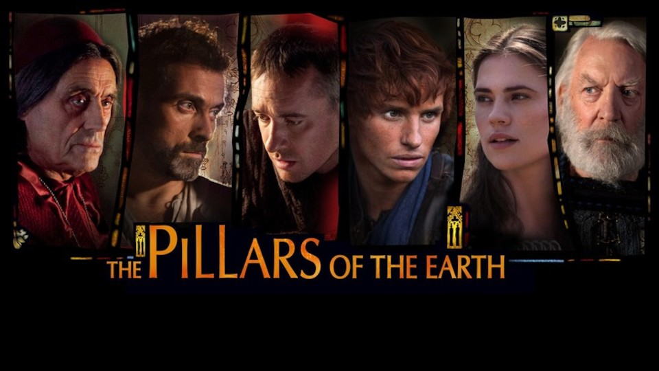 Image for the TV series The Pillars of the Earth