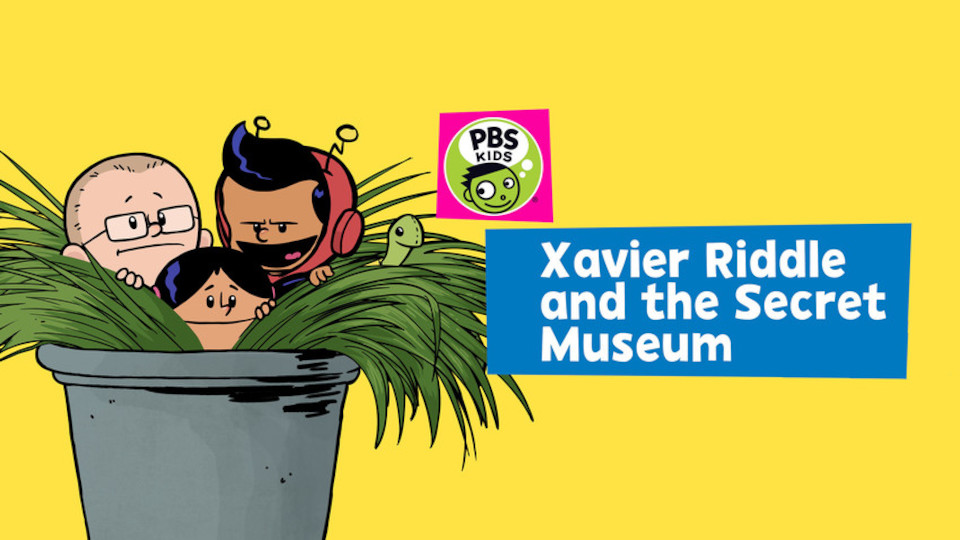 Image for the TV series Xavier Riddle and the Secret Museum