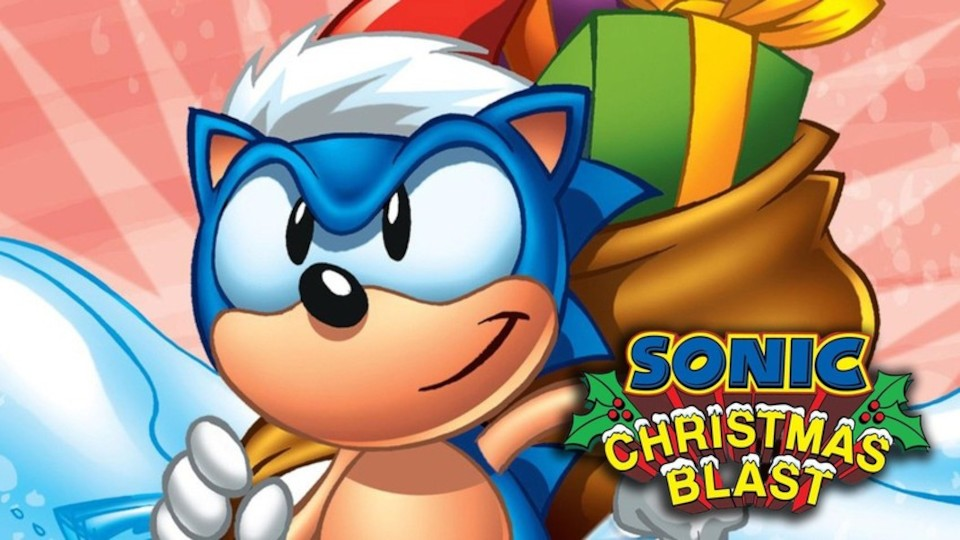 Image for the TV series Sonic Christmas Blast